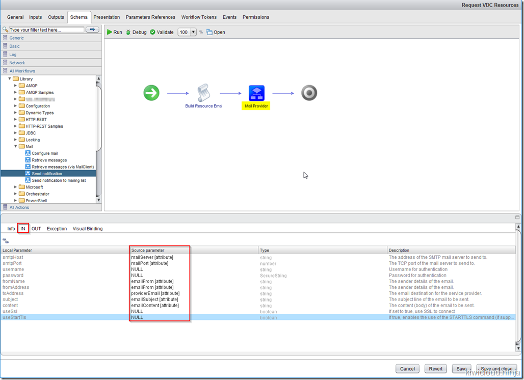 Writing vRealize Orchestrator Workflows for vCloud Director