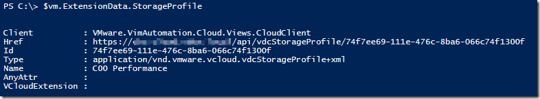 Getting detailed VM Disk Properties from the vCloud API